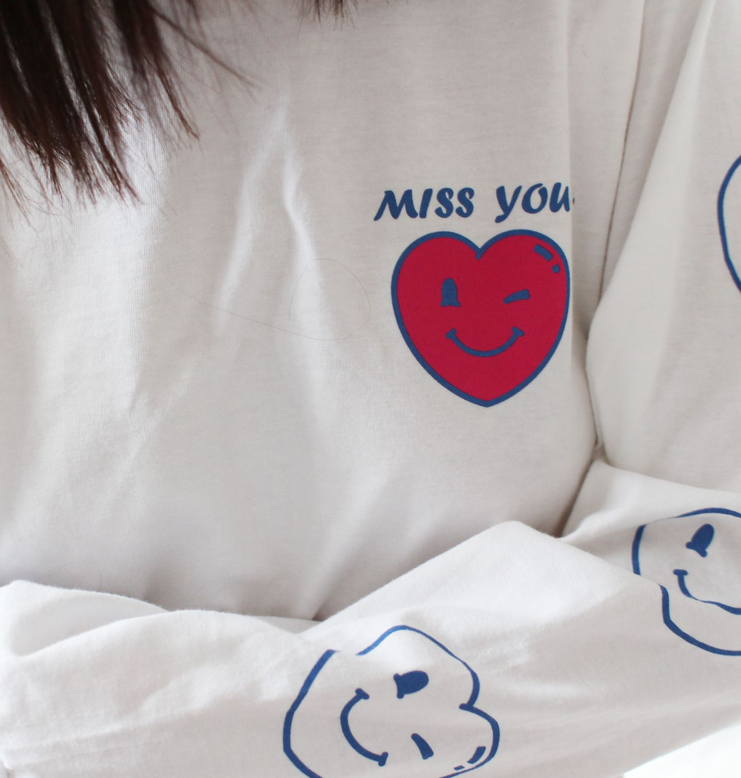 MISSYOU - MISSYOU003 Risque Starlight Long Sleeve T-Shirt LARGE