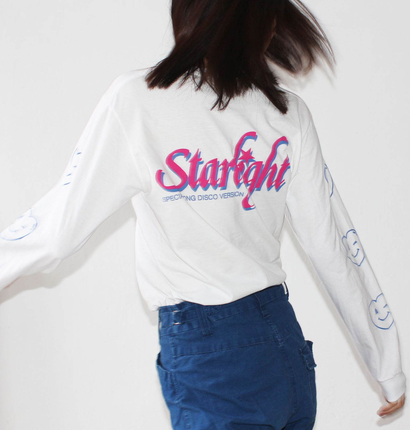 MISSYOU - MISSYOU003 Risque Starlight Long Sleeve T-Shirt X-LARGE